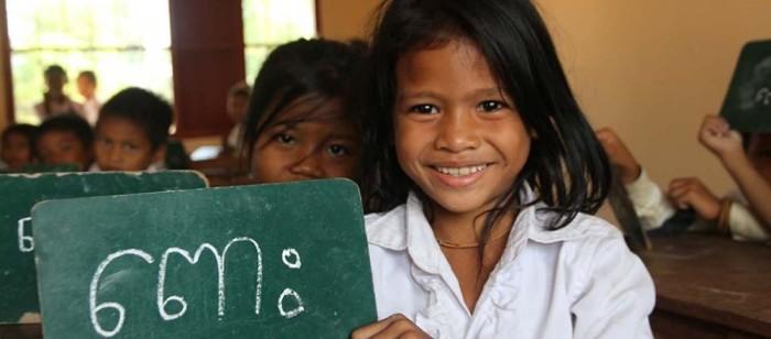 Ett rättvisare samhälle börjar med möjligheten för alla att gå i skolan. Foto: Actionaid.