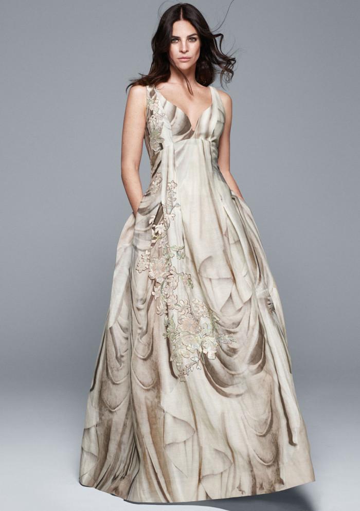 Just den här klänningen från H&M Conscious Collection kommer ni att få se mer av i nästa nummer av Femina.