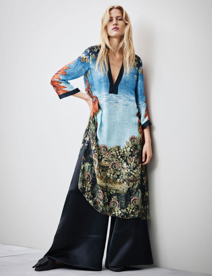 Återanvända på rätt sätt kan avlagda textilier användas på nytt. Här i H&Ms kollektion Conscious.