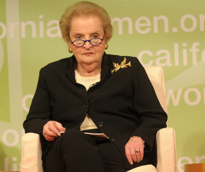 Madeleine K. Albright attending the 'Women's Conference' at the Long Beach Convention Center. - 20081022 colourpress.com Long Beach, USA - Photo: Gilbert Flores/Celebrity Photo